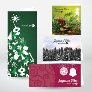 Cartes de Noël imprimées